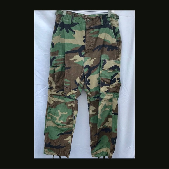 be5fe25ecce5f7 US Military Woodland Camouflage Pants, summer SS. M_5a7232e7a4c485840dc71754